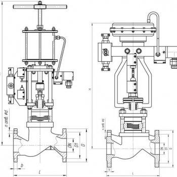 Клапан 22нж616п